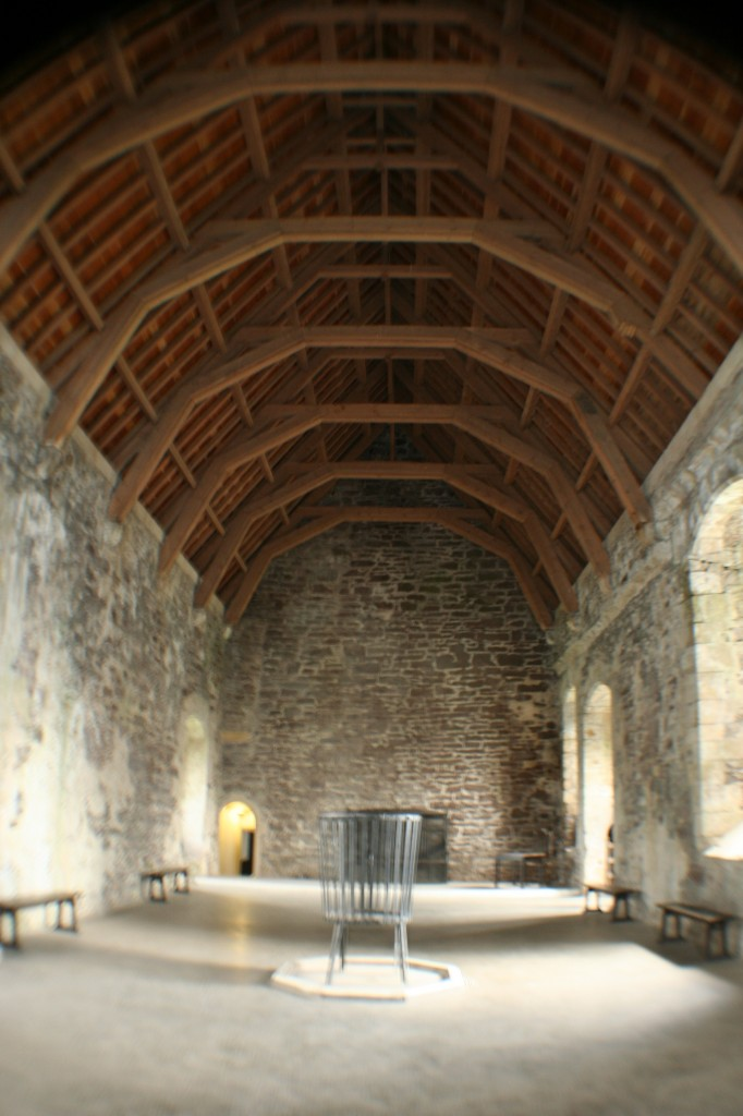 Great Hall at Doune Castle