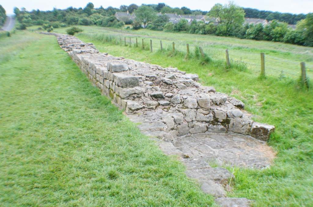 Hadrian's Wall at Heddon