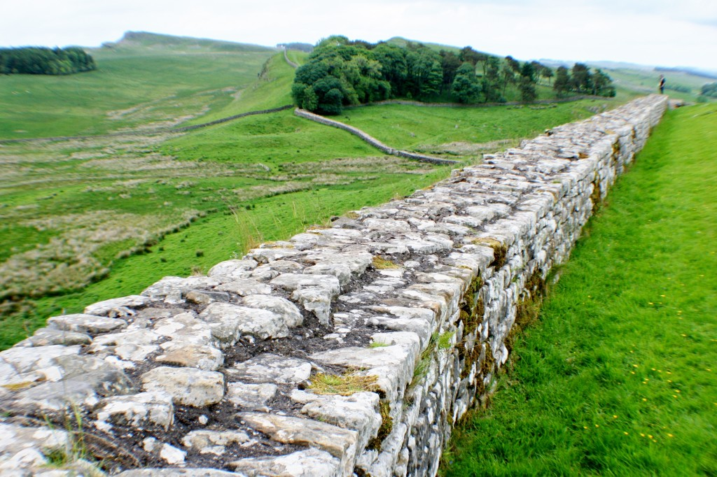 Hadrian's Wall East from Housesteads