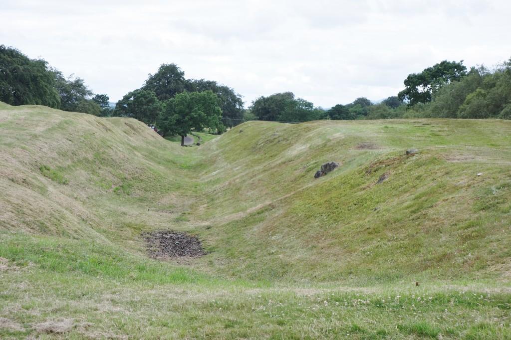 Antonine Wall at Rough Castle