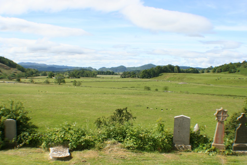 Kilmartin Glen from Church