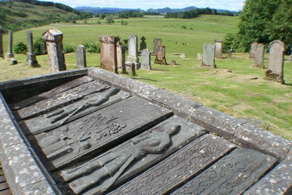 Medieval Slabs at Kilmartin