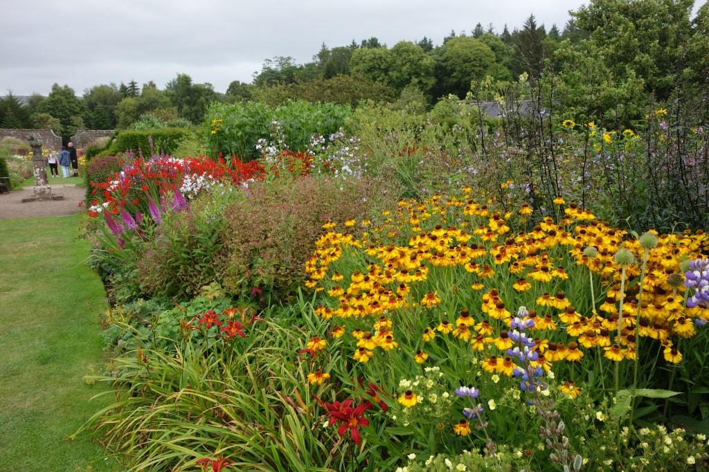 Garden at Culzean Castle