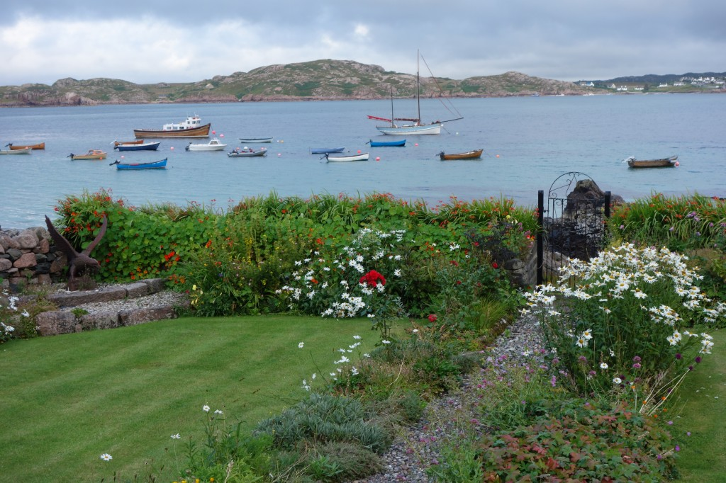 View from Iona